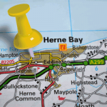 Herne Bay map