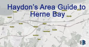 Map of Herne Bay Areas