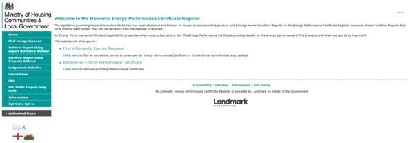 EPC Register